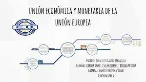 Unión económica y Monetaria de Europa