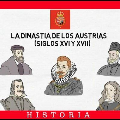 EJE CRONOLÓGICO DE LA DINASTÍA DE LOS HABSBURGO (los Austrias) timeline