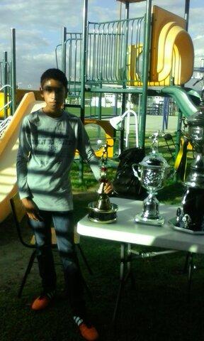 Mi primer torneo de futbol