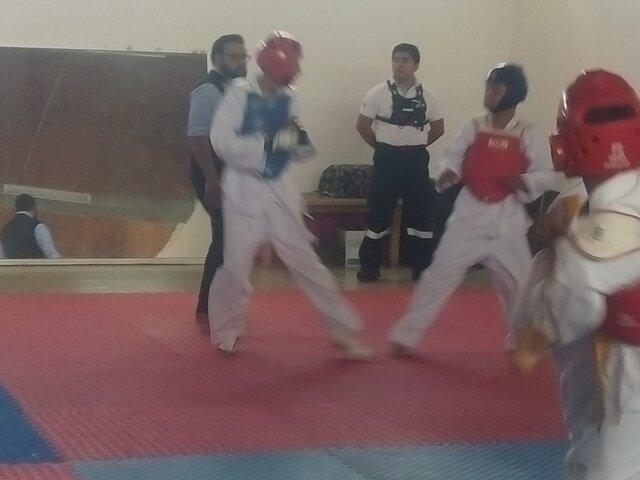 Mi primer torneo de taekwondo