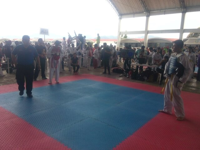 Primera vez que viaje gracias al taekwondo