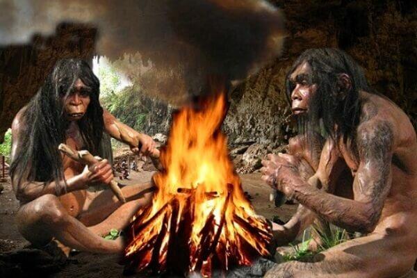 El Homo Erectus domina el fuego
