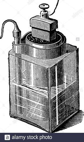 La celda Leclanché, una pila de carbono-zinc