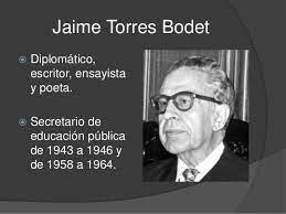 El pensamiento educativo de Torres Bodet