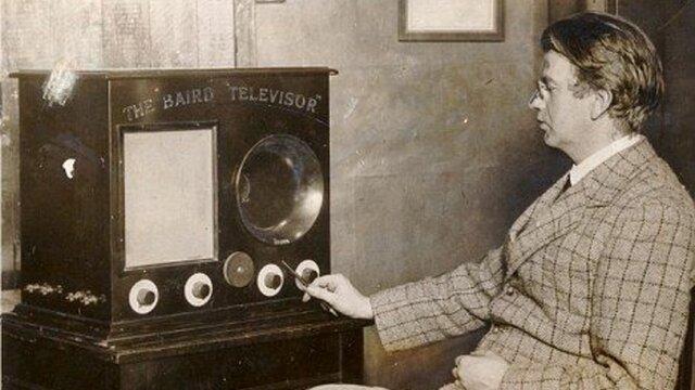 Demostración pública del televisor