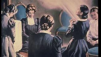 En diciembre de 1844 Ellen Harmon tuvo su primera visión