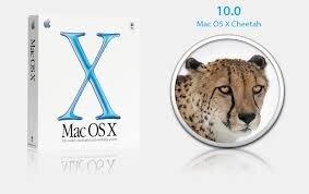 Mac OS X 10 Cheetah