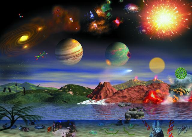 La teoría cósmica o sideral