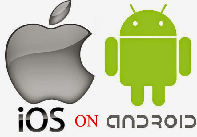 Android and iPhone OS