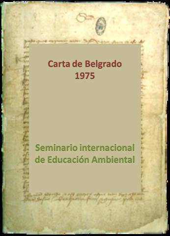 Carta de Belgrado