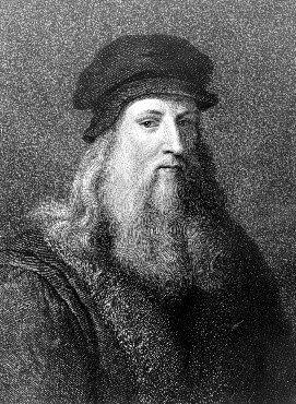 Leonardo Da vinci (15 de abril de 1452 -  2 de mayo de 1519).