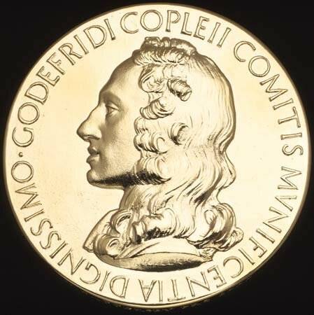 Awarded Copley Medal of the Royal Society