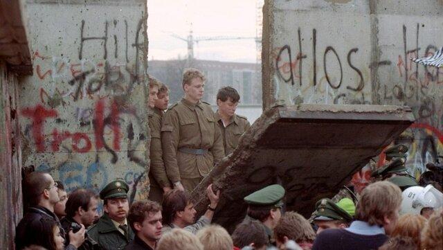 La caída de l muro de Berlín