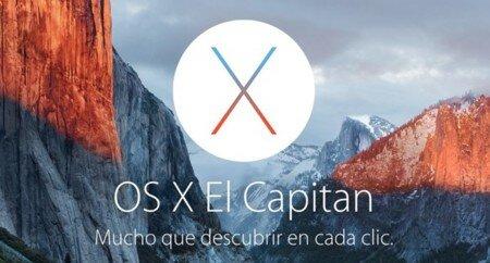 Mac OS X 1O.11 El Capitan
