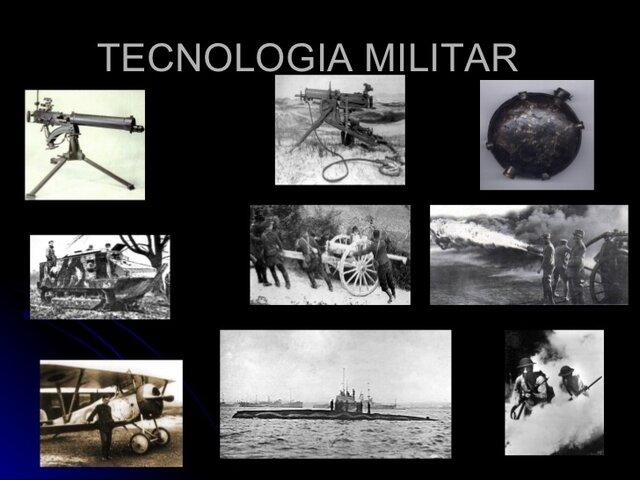 Nuevas tecnologías para la guerra