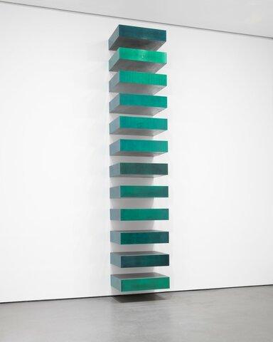 "Donald Judd. ""Untitled,"" 1967, Museum of Modern Art, New York, New York."