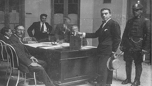 1912 Ley Sáenz Peña