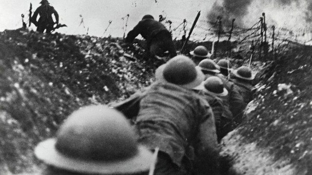 1914 – 1918: Primera Guerra Mundial