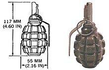 La granada de mano