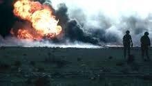 Explosión de los Pozos petrolíferos