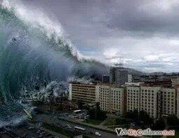Primavera árabe y tsunami  en Japón