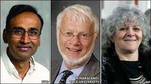 Venkatraman Ramakrishnan, Thomas A. Steitz y Ada E. Yonath