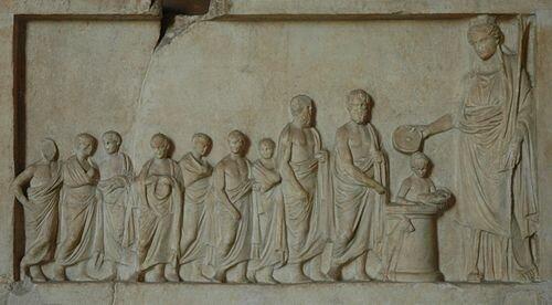 Aparece la Efebía