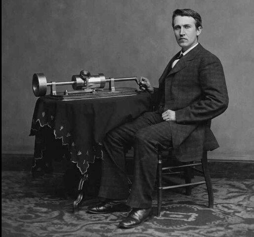 Изобретение электрофона