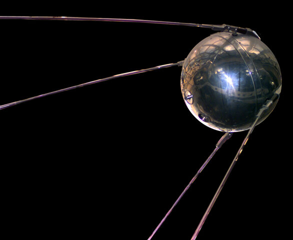 Sputnik 1 (first USSR satellite in space)