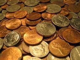 Aparición de las monedas metálicas.
