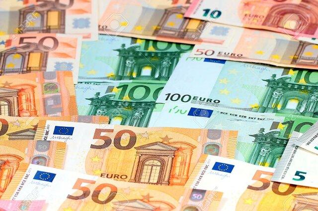 Papel moneda Europeo.