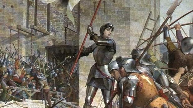 El asedio de Orléans