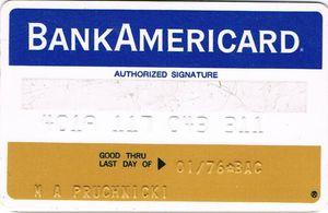Tarjetas de crédito (Dinero bancario).