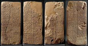 Apareix l'escriptura a Mesopotàmia