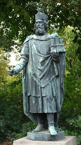 Kaiserkrönung Karl der Große