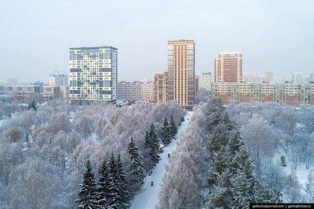 времена года Новосибирска