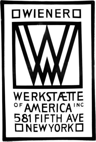 Wiener Werkstatte - Joseph Hoffmann (1870-1956)
