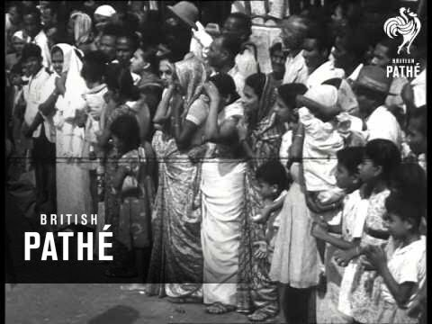 Ceylon became independent