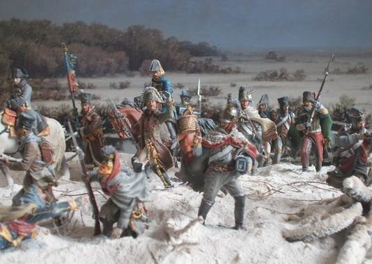 End of the Battle of the Berezina