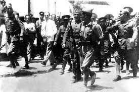 Alzamiento en Melilla del General Yagüe.