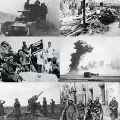 Guerra Civil. timeline