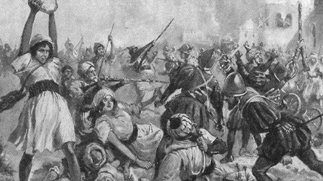La rebelión de los moriscos de las Alpujarras.