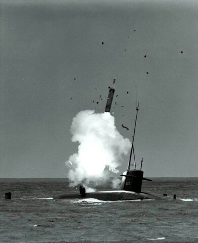 """The UK took American """"Polaris"""" nuclear missiles for submarines."""
