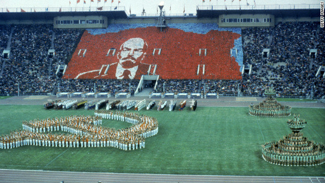 Britain joined the United States in boycotting the Moscow Olympic