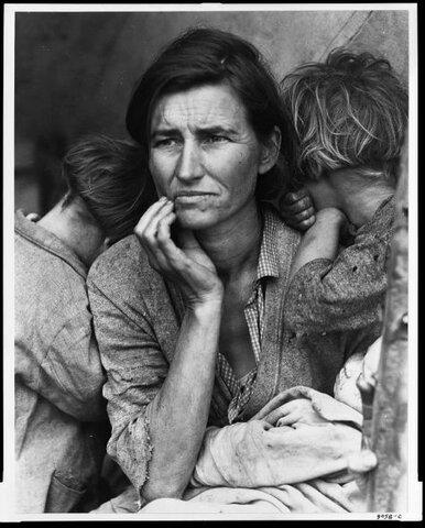 Mare migrant - Dorothea Lange