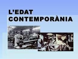 EDAT CONTEMPORANIA