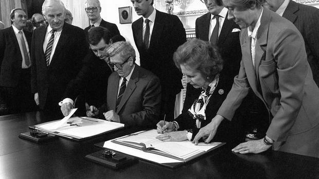 The Hillsborough agreement (the Anglo-Irish agreement)