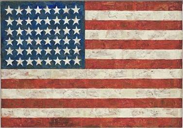 Bandera de Jasper Johns