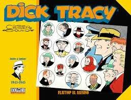 Primer exemplar de Dick Tracy (Chester Gould)