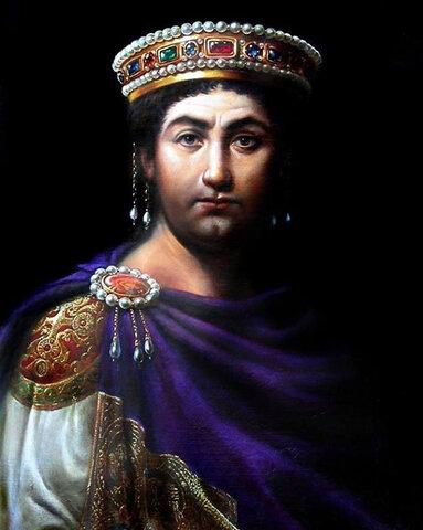 Giustiniano diventa imperatore (527 )